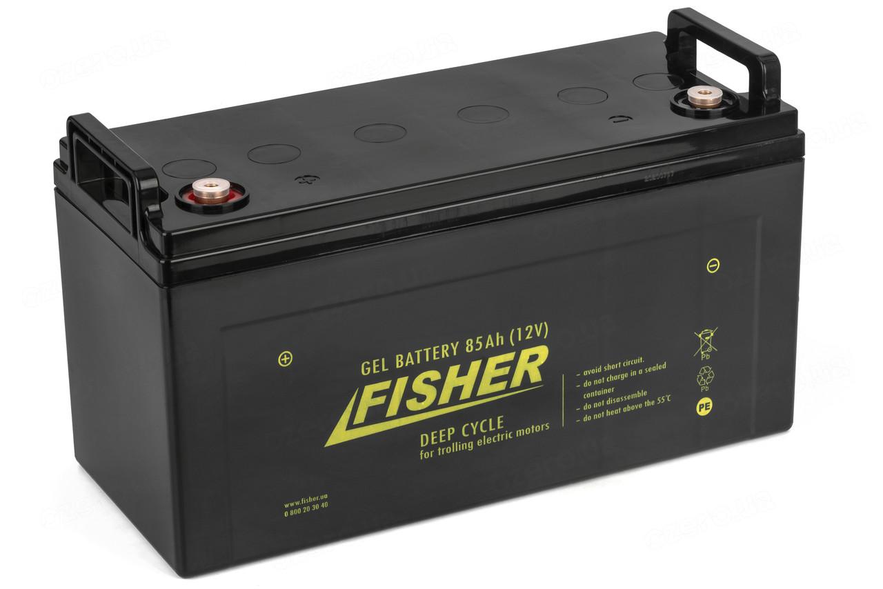 Гелевый аккумулятор 85AH Fisher 12V