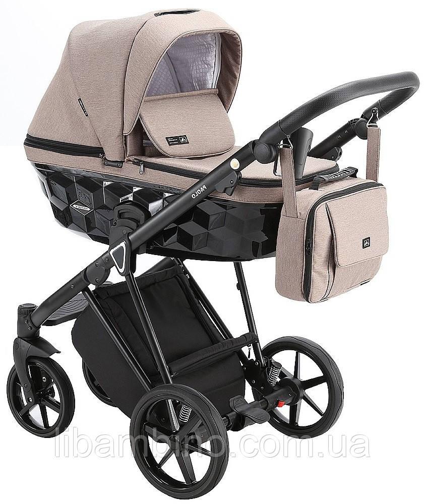 Дитяча універсальна коляска 2 в 1 Adamex Paolo TK-22