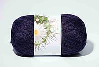 Пряжа для ручного вязания Ареола (альпака № 10) черника