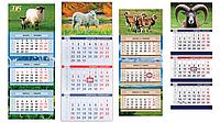 Корпоративные календари - перекидные, настольные, квартальные