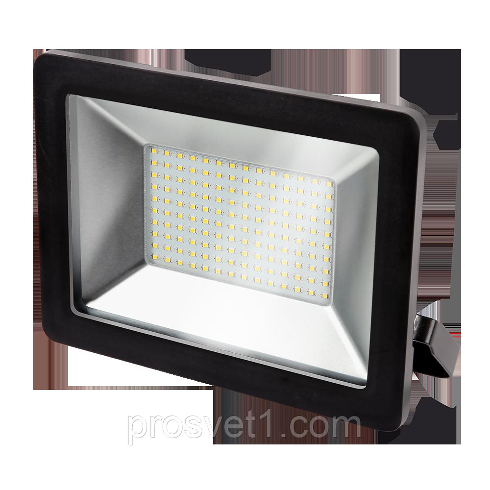 Прожектор LED 100W 6500K IP65 чорний