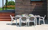 Стіл садовий Alloro 140/210 Extensible NARDI tortora tortora, фото 4