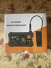 """Камера ендоскоп,бороскоп технічний з екраном 4.3"""" FullHD Ендоскоп автомобільний"""