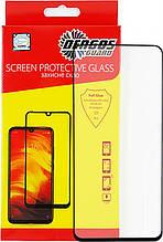 Защитное стекло Dengos для Oppo A53 Black Full Glue (TGFG-143)