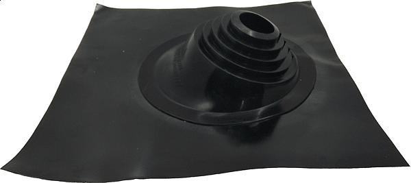 Кровельный проход Мастер Flash угловой черный (76-203 мм)