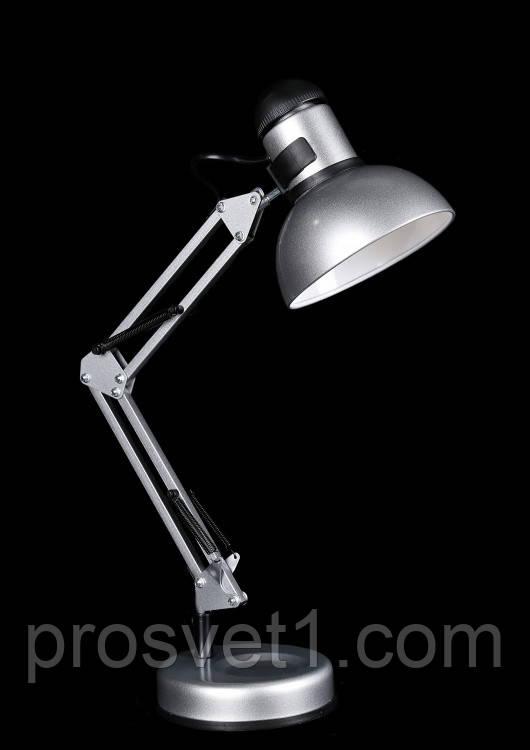 Лампа настольная N810 серебро