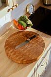 Доска разделочная  щитовая и для подачи блюд , ручка снизу  40х300х450  фабрики Casa Verdi, фото 2