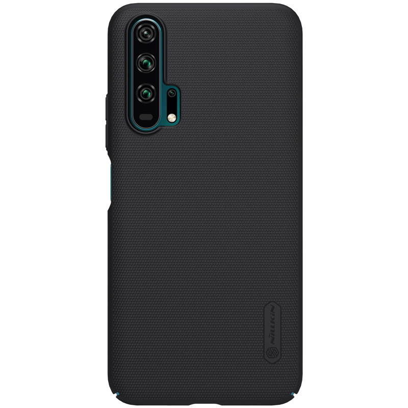 Nillkin Huawei Honor 20 Pro Super Frosted Shield Black Чехол Накладка Бампер