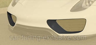 MANSORY front bumper air intake covers for Porsche 918 Spyder