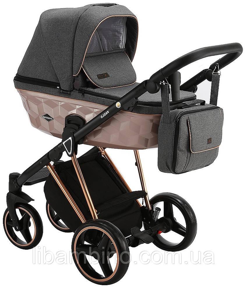 Дитяча універсальна коляска 2 в 1 Adamex Paolo Star-16