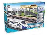 Детская железная дорога Power Train World Скоростной Поезд BSQ 2181, 86 элементов (914 см)