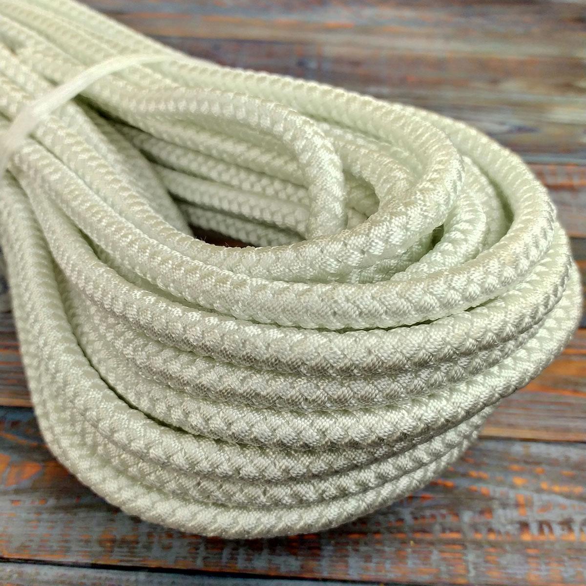 14мм - 100м  - 2100кг Белорусская капроновая плетеная  веревка ПА+ПЕ со сроком службы до 50лет