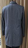 Пальто мужское серого цвета, фото 3