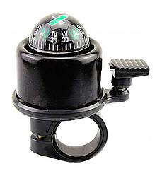 Компас + дзвінок FLG-03 маленький (чорний)