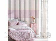 Комплект постільної білизни євро Cotton box Ранфорс Minimal Seri Fine pembe