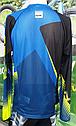 Велокофта (фрирайд) NORTHWAVE DROP JERSEY L/SL blue/greeflu/cia р.M, фото 3