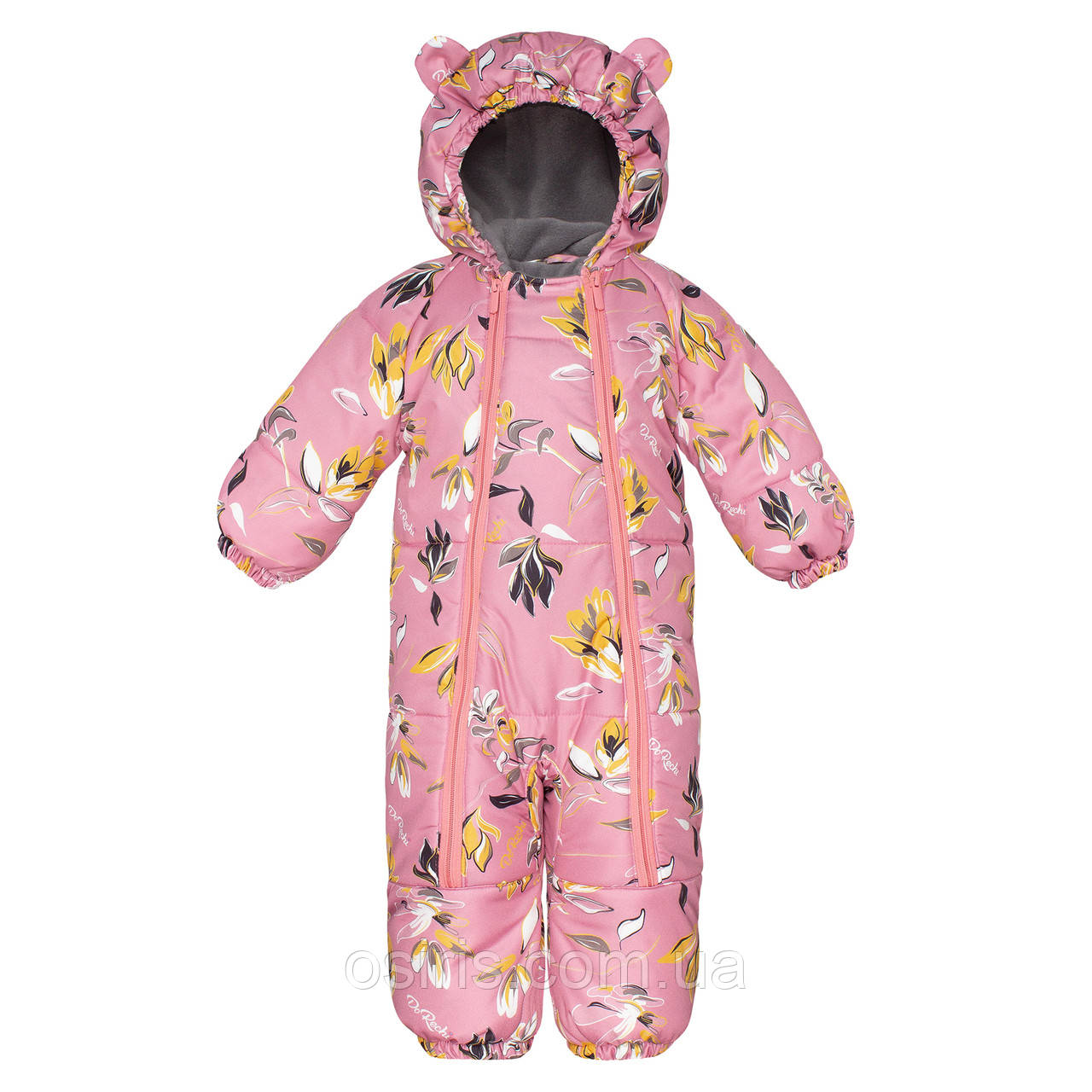 Комбинезон зимний детский Discovery Розовая Мечта / Детские зимние комбинезоны
