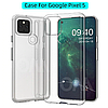 Ультратонкий 0,3 мм чехол для Google Pixel 5 прозрачный