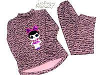 Теплый костюм для девочки 110 см