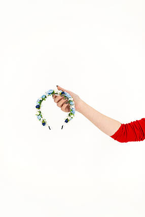 Обруч с цветами под вышиванку, фото 2