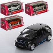 Машинка KINSMART електромобіль BMW i3 (Помаранчевий), фото 2