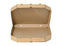 Коробка для пиццы бурая, 450х450х37 мм, упаковка 50 шт, (10,22 грн/шт)