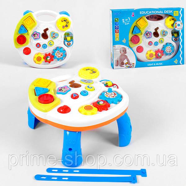 Детский игровой центр 3901 2в1 столик и подвеска, свет, звук, в коробке