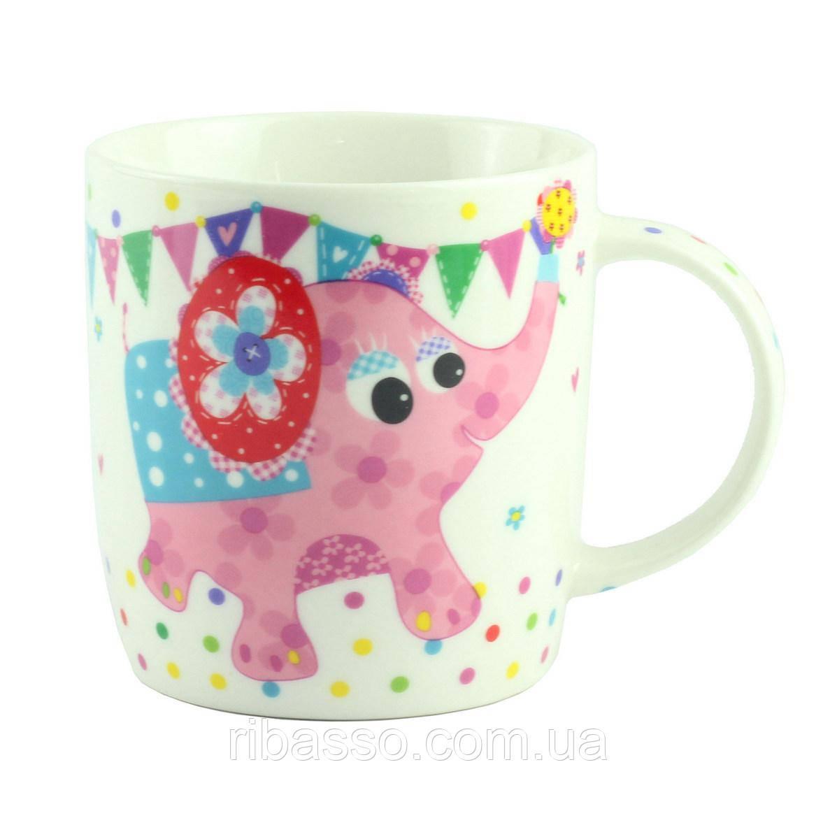 "Чашка ""CHILDREN ANIMALS"" слоник, фарфор"