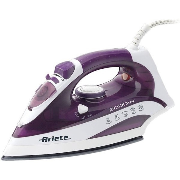 Паровой Утюг Ariete 6235 Белый+Фиолетовый