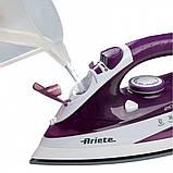 Паровой Утюг Ariete 6235 Белый+Фиолетовый, фото 2