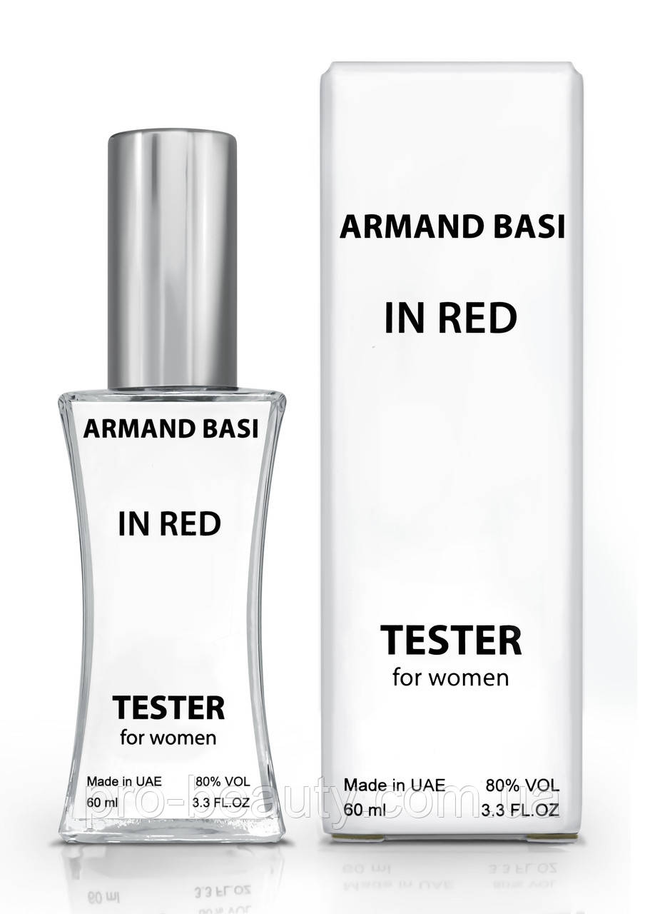 Тестер жіночий Armand Basi in Red, 60 мл