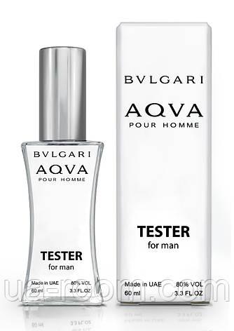 Тестер мужской Bvlgari Aqua Pour Homme, 60 мл., фото 2