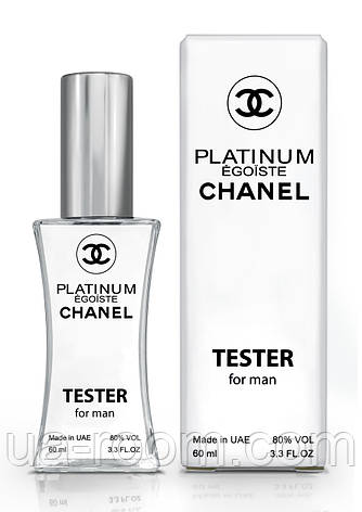 Тестер мужской Chanel Egoiste Platinum, 60 мл., фото 2