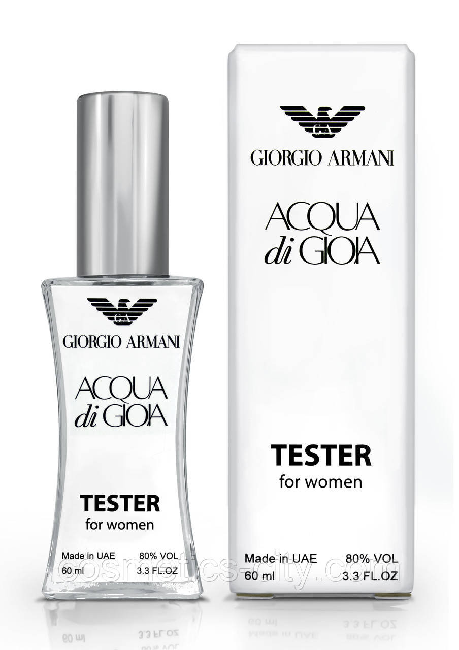 Тестер женский Giorgio Armani Aqua di Gioia, 60 мл.