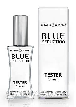 Тестер мужской  Antonio Banderas Blue Seduction for Men, 60 мл.