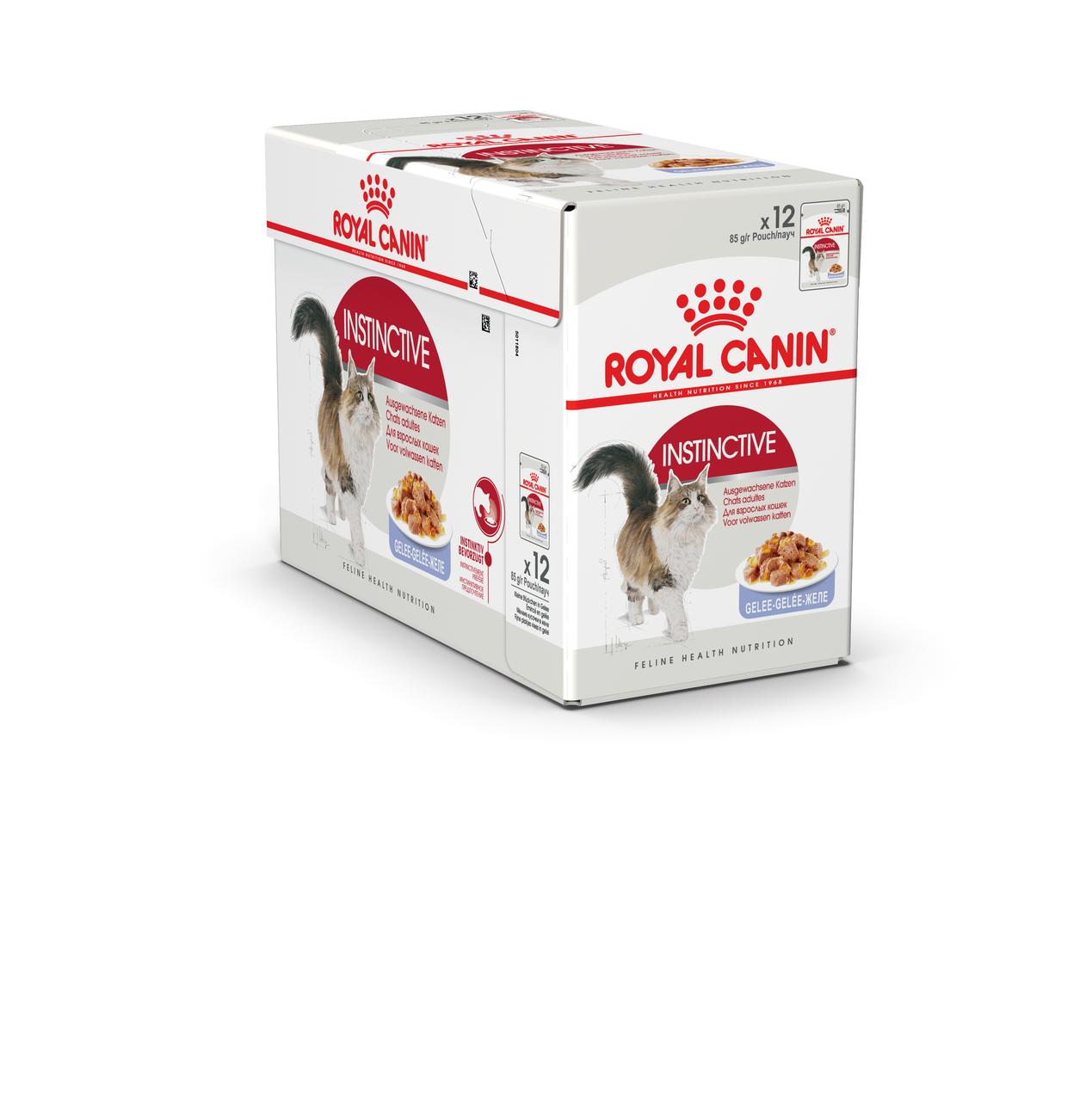 Royal Canin Instinctive 85 гр упаковка 12 шт влажный корм (Роял Канин) для взрослых кошек в желе