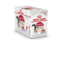 Royal Canin Instinctive 85 гр упаковка 12 шт влажный корм (Роял Канин) для взрослых кошек в желе, фото 1