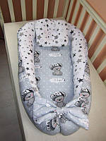 Кокон, гнездышко для новорожденного, кокон позиционер для ребенка, кокон для сна