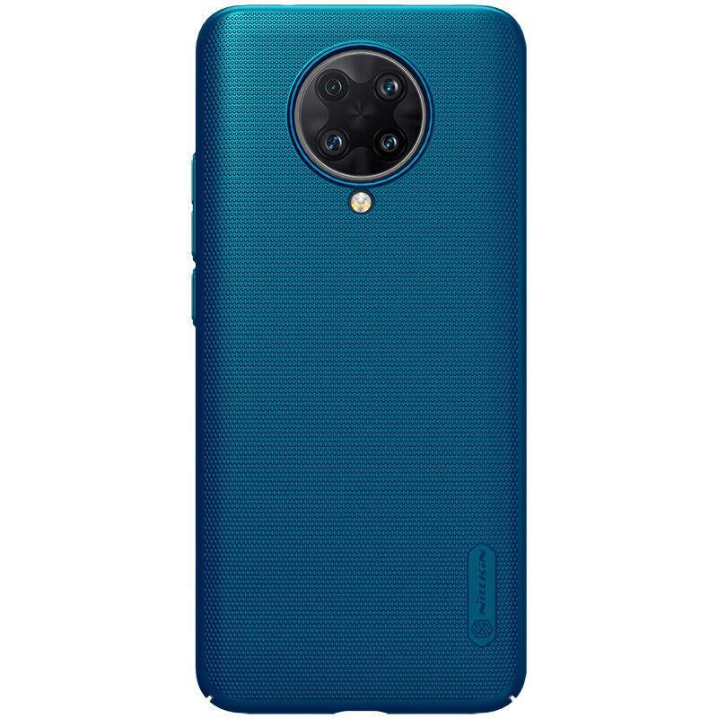 Nillkin Xiaomi Redmi K30 Ultra Super Frosted Shield Blue Чехол Накладка Бампер