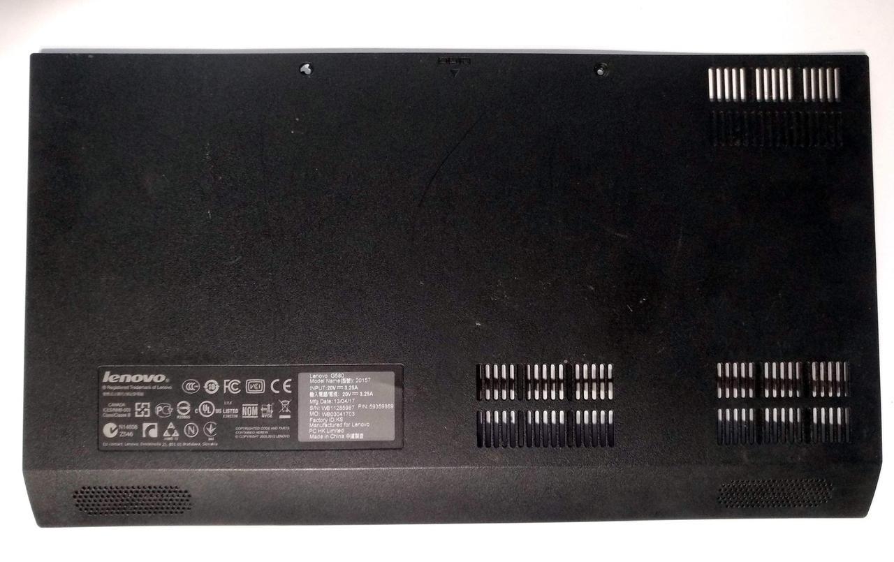464 Сервисная крышка Lenovo G580 (20157), G585 - 60.4SH03.011 60.4SH03.021 42.4SH01.XXX
