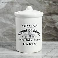 """Банка для сыпучих """"Moulins De Bouvel"""", бочонок 600мл, фото 1"""