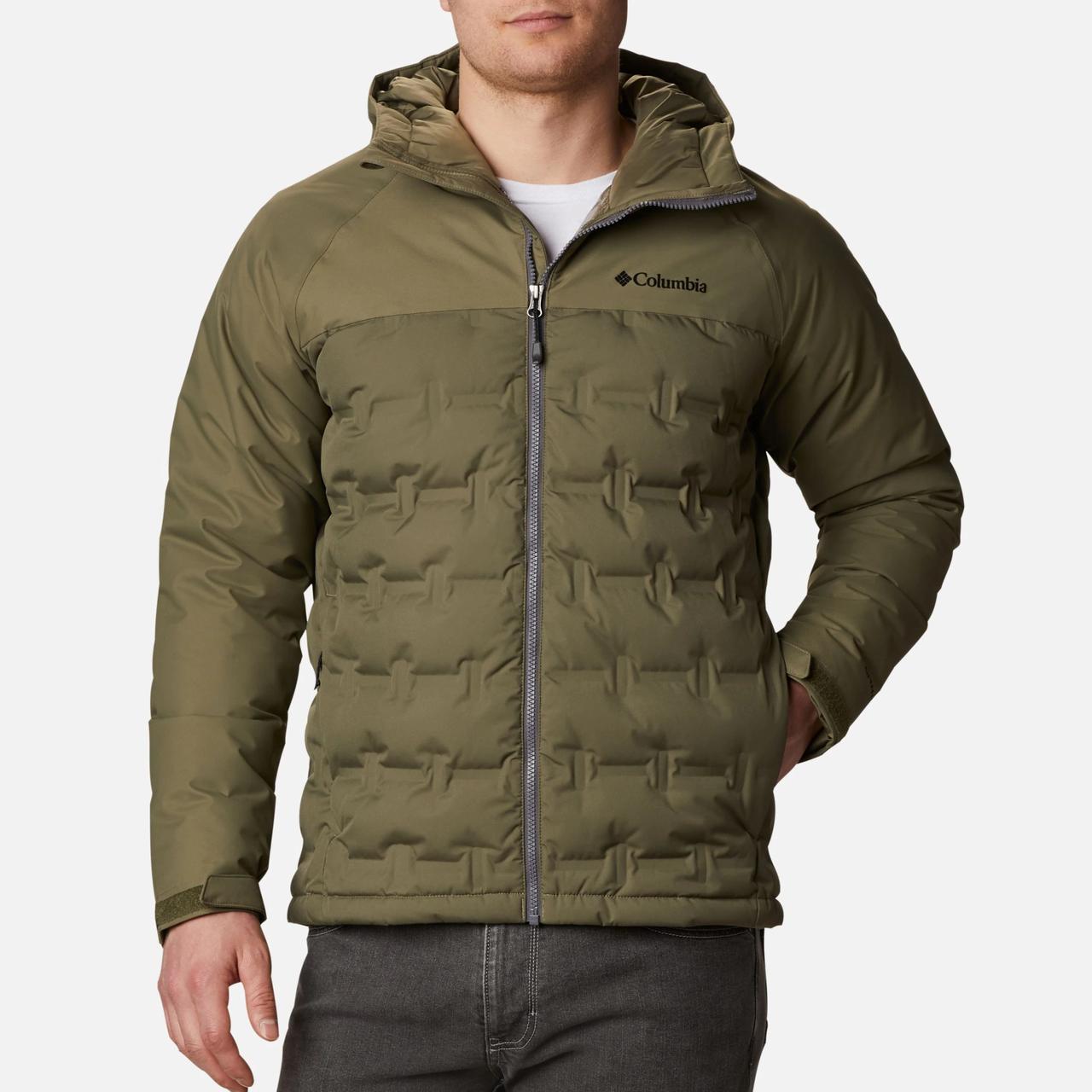 Куртка пуховая мужская Columbia Grand Trek Down Jacket РАЗМЕР XXL