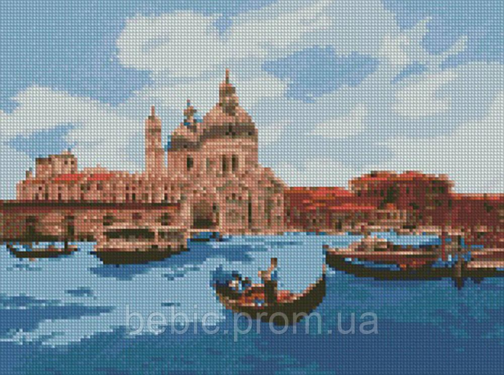 """Алмазная мозаика """"Полдень в Венеции"""" 30*40 см"""