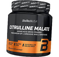Цитруллин BioTech Citrulline Malate 300g БЕЗ ВКУСА