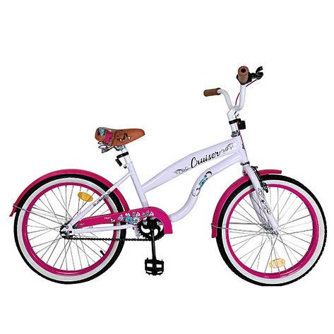 "Велосипед CRUISER 20"" T-22034 pink /1/, фото 2"