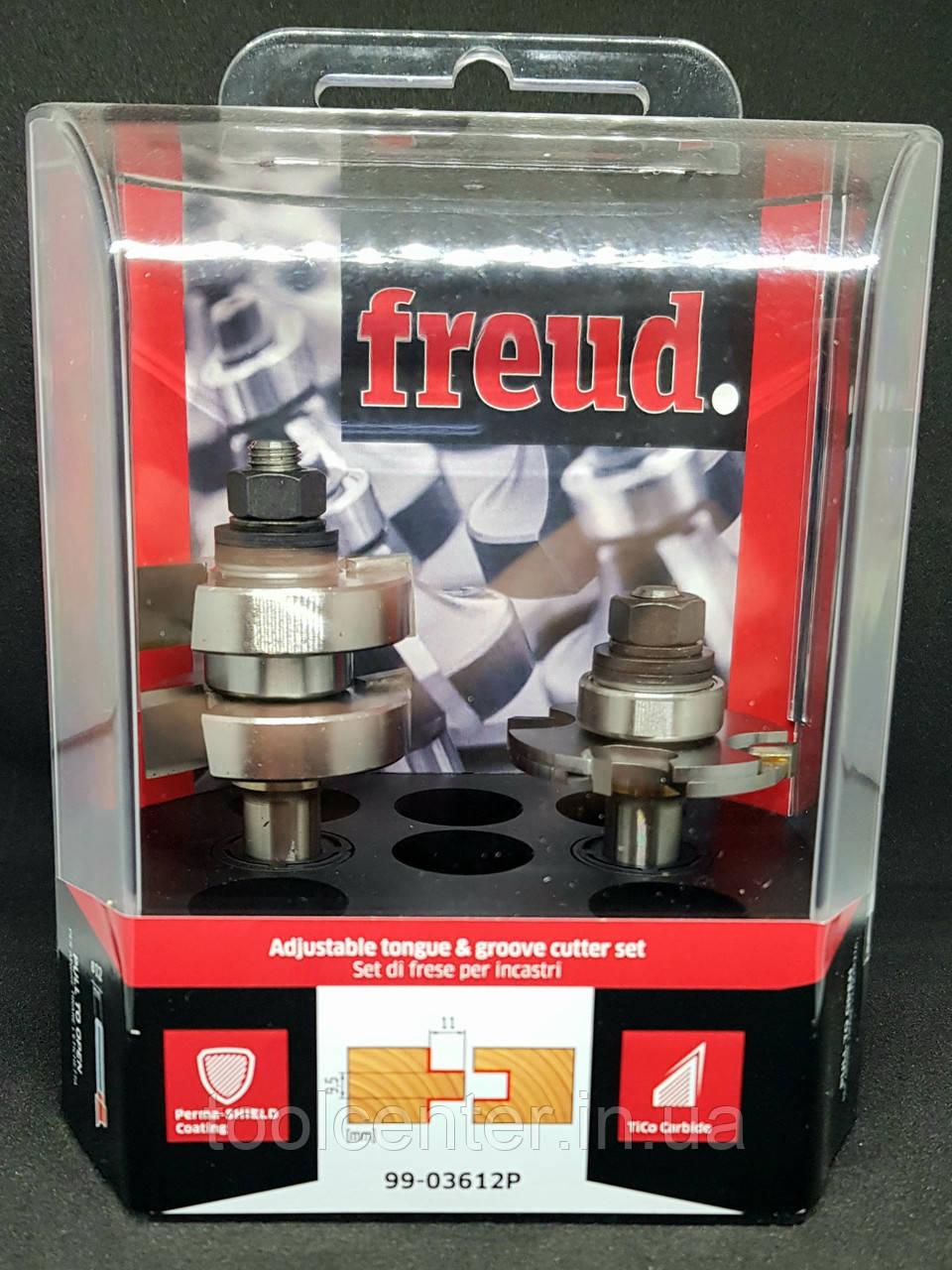 Комплект фрез шип-паз Freud 44х5,5х22х95х12 Z2
