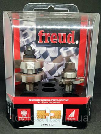 Комплект фрез шип-паз Freud 44х5,5х22х95х12 Z2, фото 2