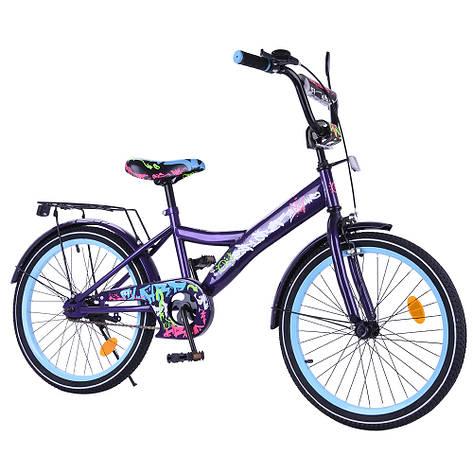 "Велосипед EXPLORER 20"" T-220115 black_blue /1/, фото 2"