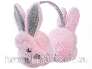 Навушники дитячі Зайчик рожеві