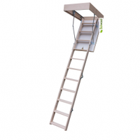 Лестница чердачная Bukwood Compact Long 120*60